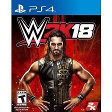🚚 (PO)PS4 WWE 2K18