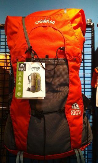 Tas gunung GRANIT GEAR Crown VC60 backpack ORIGINAL.
