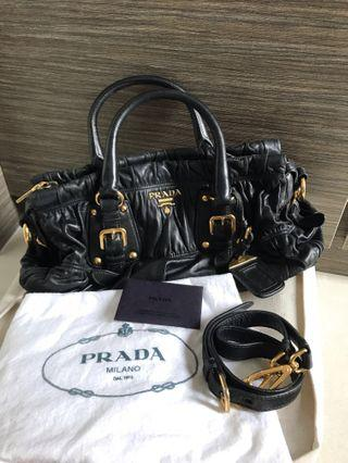 Prada Nappa Gaufre leather BN1407