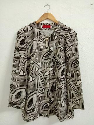 Vintage Cardigan Blouse