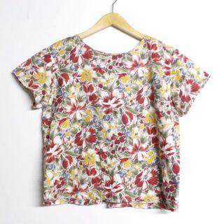 Floral Vintage Blouse #cintaibumi