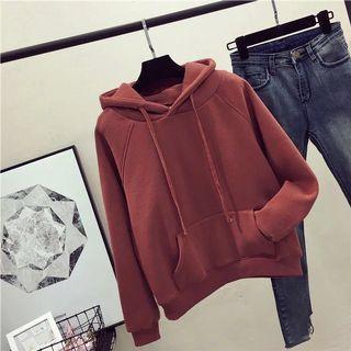 Orange-brown hoodie
