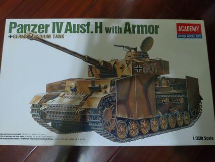 德國Panzerkampfwagen IV坦克模型