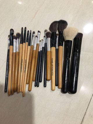 makeup brush masami shouko, makeup for you, bamboo kabuki brush