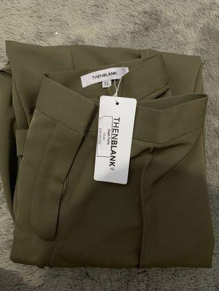Dash pants khaki thenblank