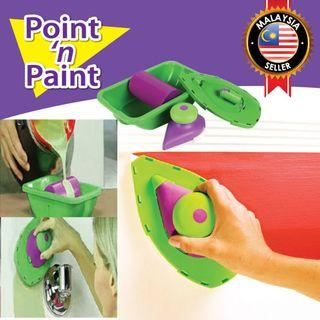 Point N Paint Roller Edge Painting Brush