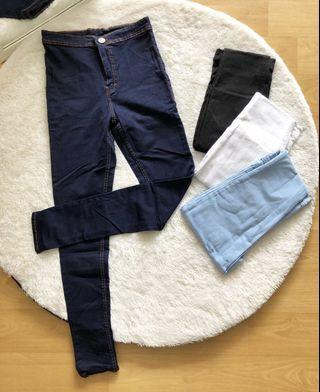 Punny jeans navy NEW!!