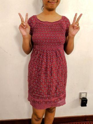 Purple lovely dress