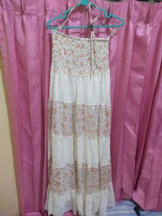 Baju / gaun wanita panjang