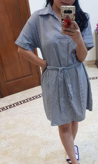 MANGO look alike dress +belt #dibuangsayang