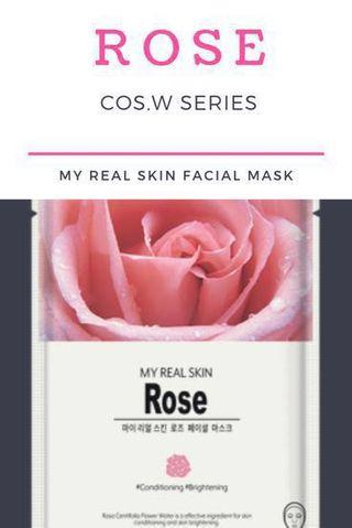 Beauty Facial Mask Sheet : My Real Skin COS.W (Masker Wajah)