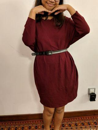 Pull&Bear warm dress