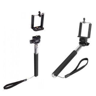 Extended Monopod Selfie Stick (black)