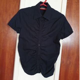 United Colors of Benetton Black Shirt #EndgameYourExcess