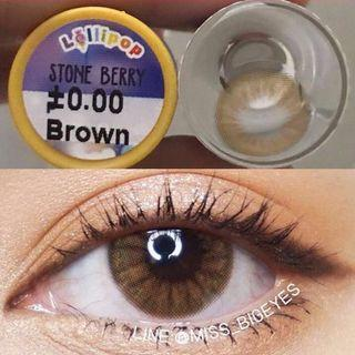 Stone Berry Brown Contact Lens -1.25