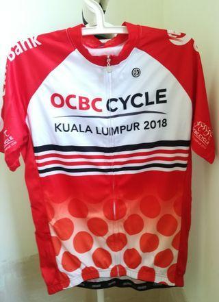 Cycling Jersey - OCBC Cycle Kuala Lumpur 2018 L size