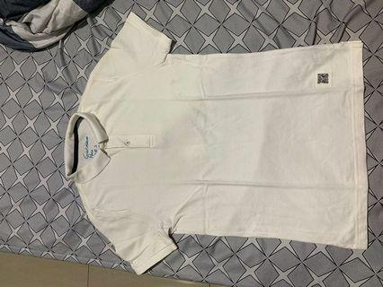 Giordano Polo White Tapered Fit
