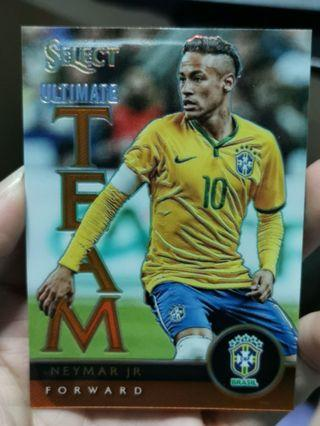 🚚 #59/149 Panini Select 2015 Ultimate Team - Neymar Junior