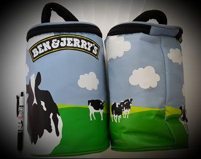 Ben and jerry limited cooler bag