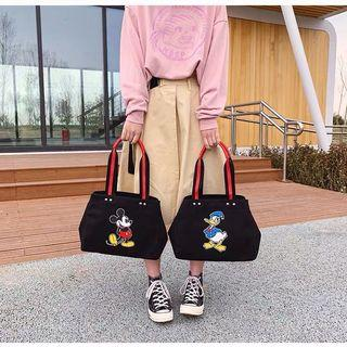 🚚 Mickey Mouse and Donald Duck Canvas Bag