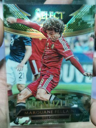 🚚 #38/249 Panini Select 2017 Equalizers - Fellaini / Belgium