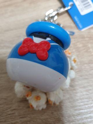日本迪士尼帶回 紅點瑕疵 唐老鴨爆米花鑰匙圈