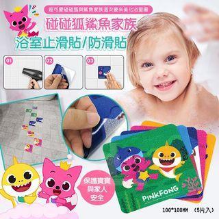 🚚 韓國製碰碰狐鯊魚家族 浴室止滑貼/防滑貼 (組)