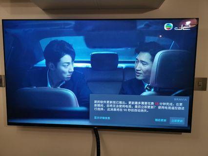 Sony A8F KD-55A8F55英寸OLED智能電視 如新一樣 水貨