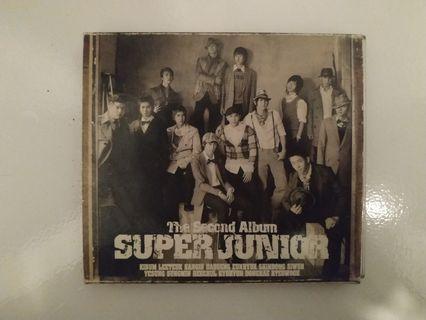 Super Junior Seconda Album CD