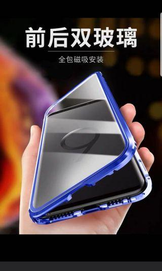 Brand new Note9 9D glass magnet casing