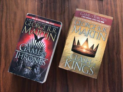 🚚 Game of Thrones Books 1 & 2 [Reserved]