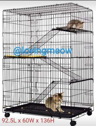 3 Tier 🐈 cage Large