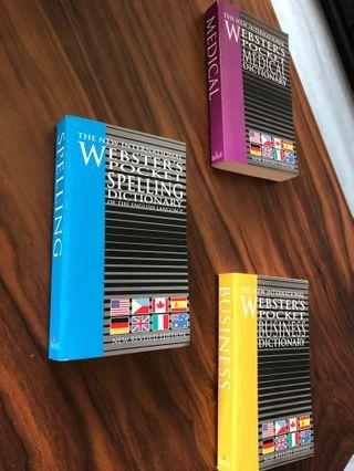 Webster's Pocket Dictionaries