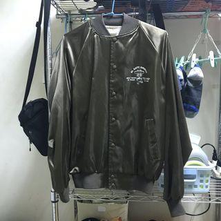 教練/棒球風衣外套 1730古著店購入