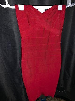 STELLA FOREST bandage dress