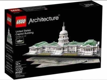 Lego Architecture 21030 United States Capitol Building 2016 1032 pcs