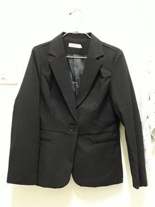 黑色西裝外套 正裝 XL