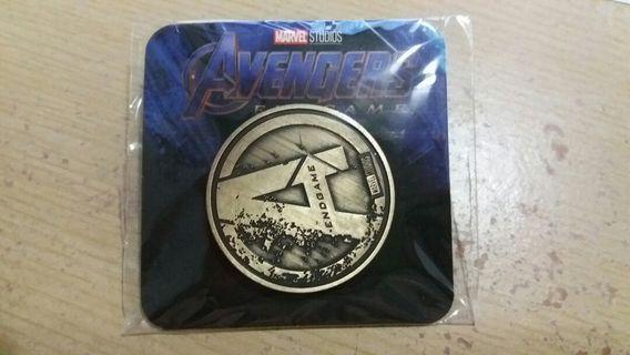 復仇者4 紀念幣 marvel coins avengers 4 end game
