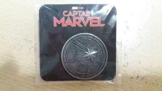 復仇者 Captain marvel 紀念幣