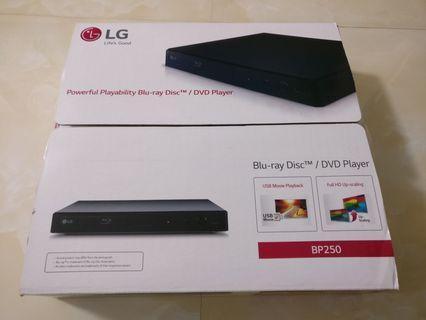 LG BP250 Blu-ray player 藍光播放器