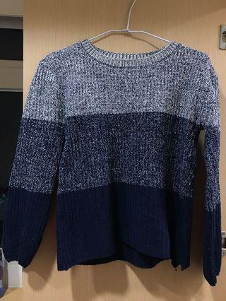 漸層針織毛衣