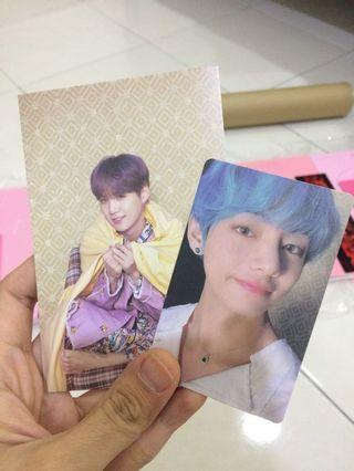 [Trade] Official Map of The Soul Persona postcard & photocard (pc)