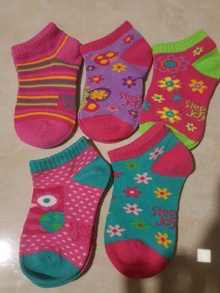 Baby Girl Socks (5 pair for RM10)