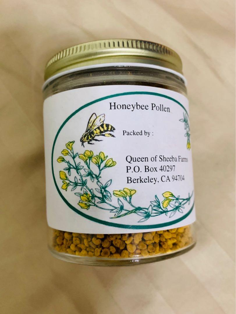 天然蜂蜜花粉4 oz