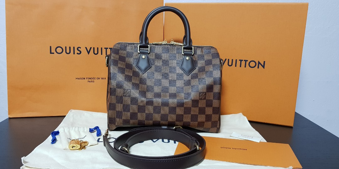 b252c2ea962f 💛 BNIB 💛 💯 Authentic Louis Vuitton speedy 25 Bandouliere In ...