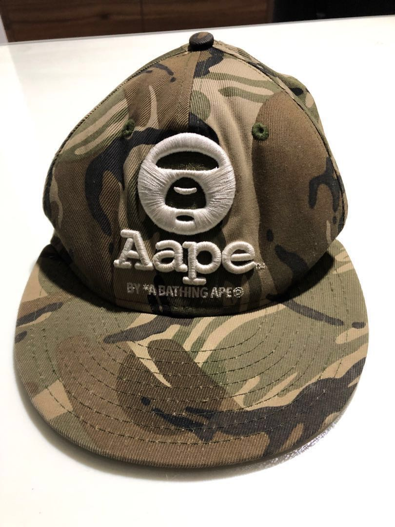 49f229578 Aape By*A Bathing Ape Camouflaged Cap