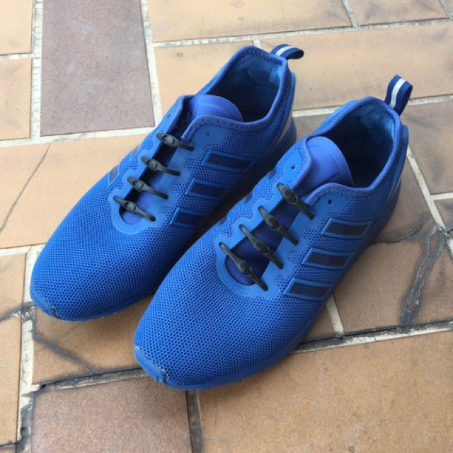 more photos 2b91a 46e7c Adidas Zx Flux Adv (blue), Men s Fashion, Footwear, Sneakers on Carousell