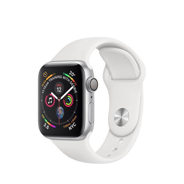 Apple Watch (44m) - WHITE SPORT BAND