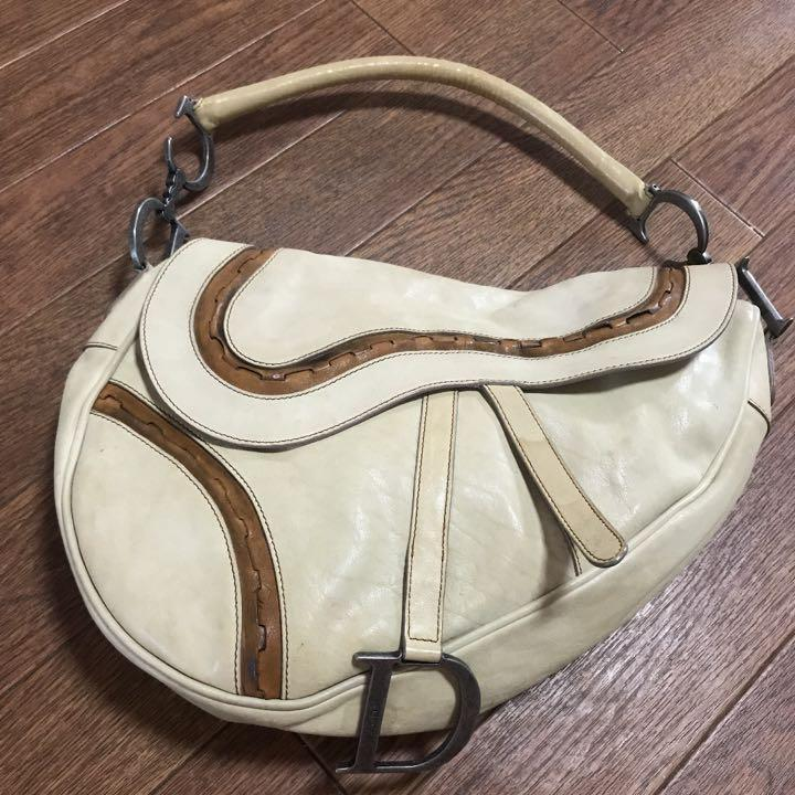 AUTHENTIC DIOR SADDLE BAG - VINTAGE - (DIOR SADDLE BAGS NOW RETAIL AROUND RM 15,000+) - [PREORDER ITEM]