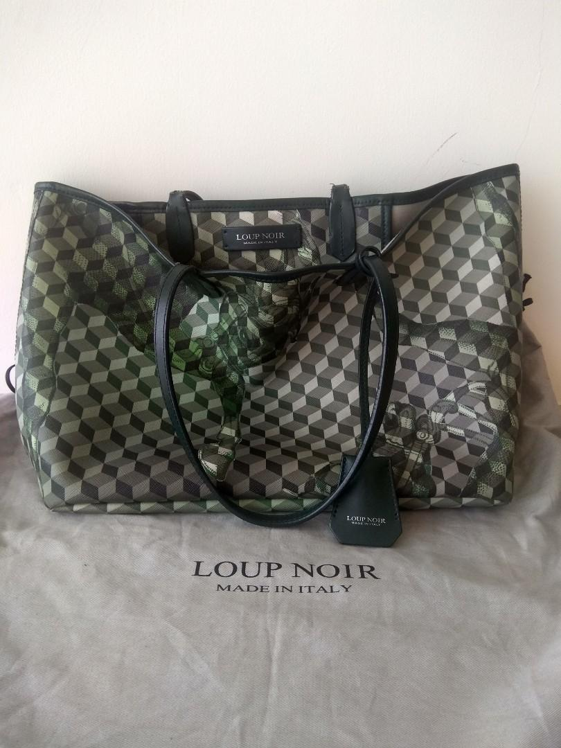 Authentic Loup Noir Small with Defect
